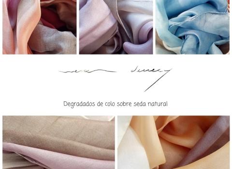 Pañuelos de sedadegradados